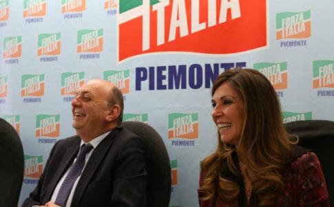 Il senatore Pichetto e la deputata Porchietto