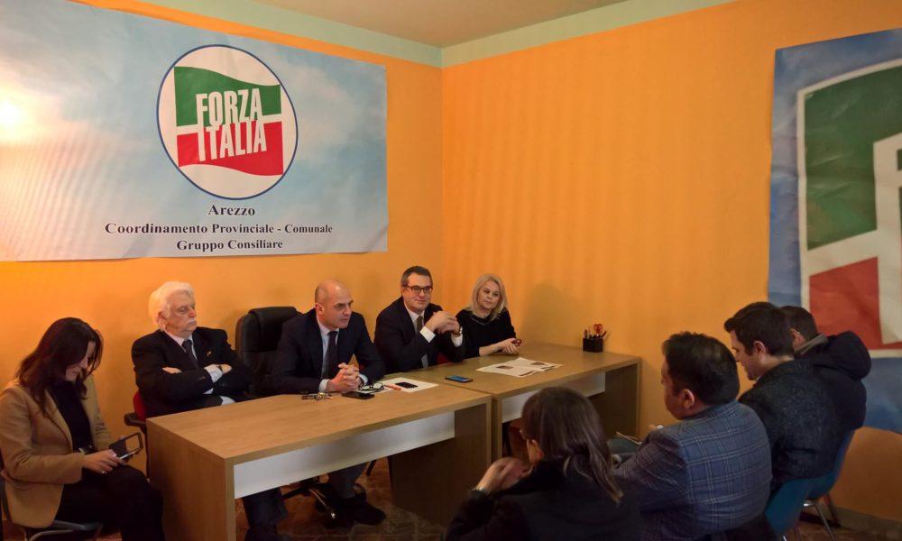 Arezzo politiche 2018 ecco i candidati di forza italia for Deputati di forza italia