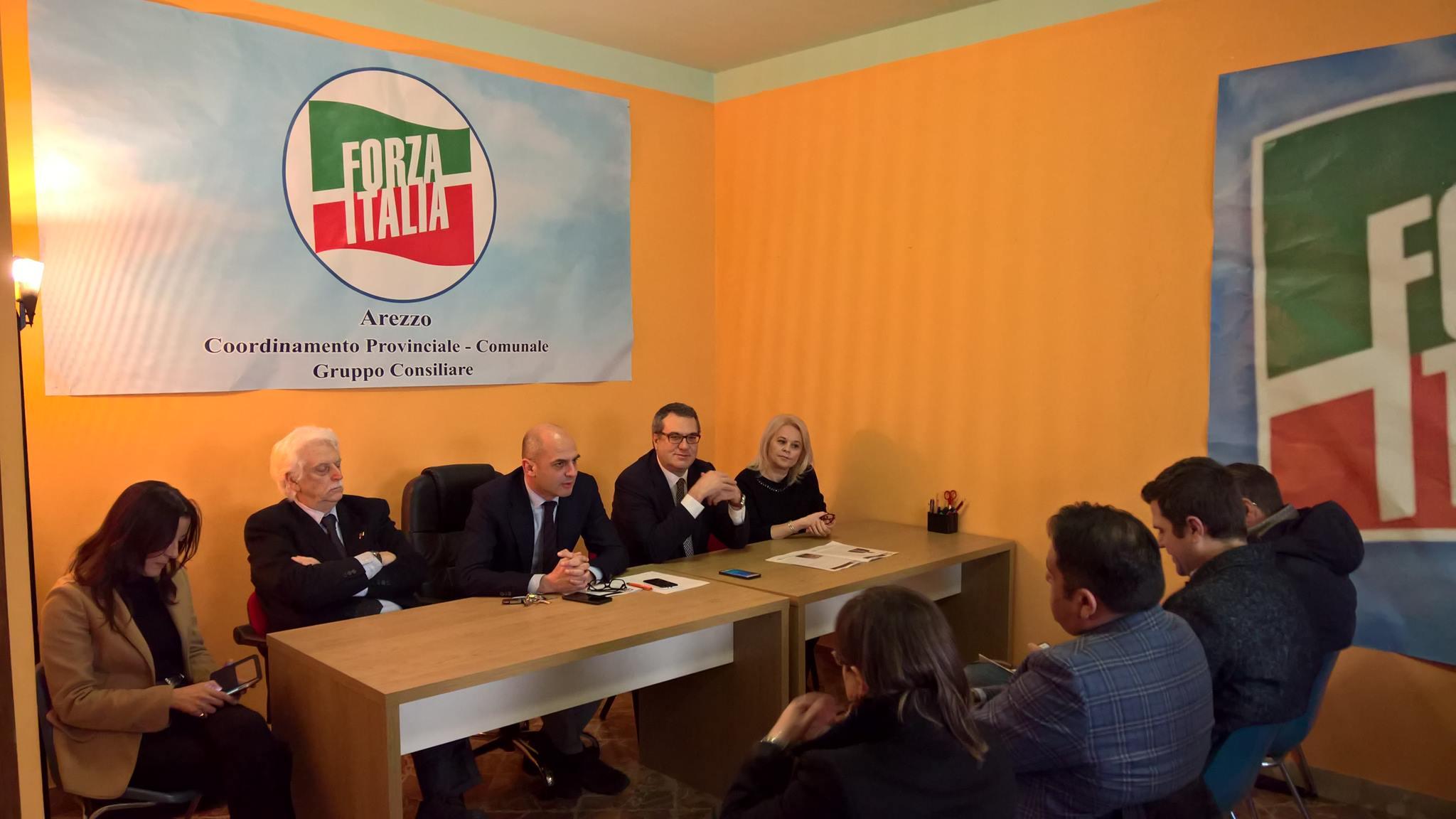 Arezzo politiche 2018 ecco i candidati di forza italia for Forza italia deputati