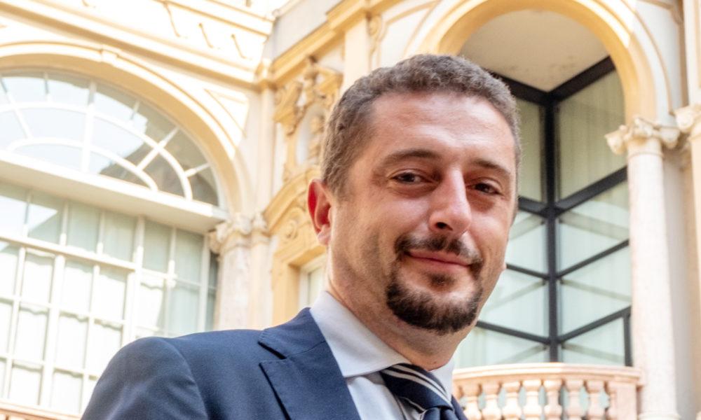 Il consigliere regionale Luca Bona