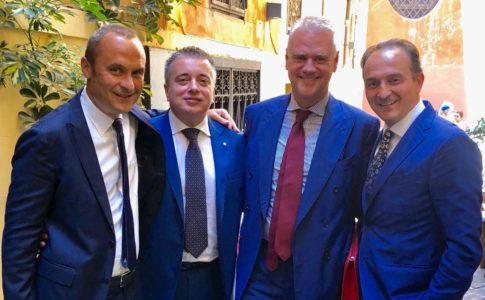 Enrico Costa, Franco Graglia, Paolo Zangrillo, Alberto Cirio