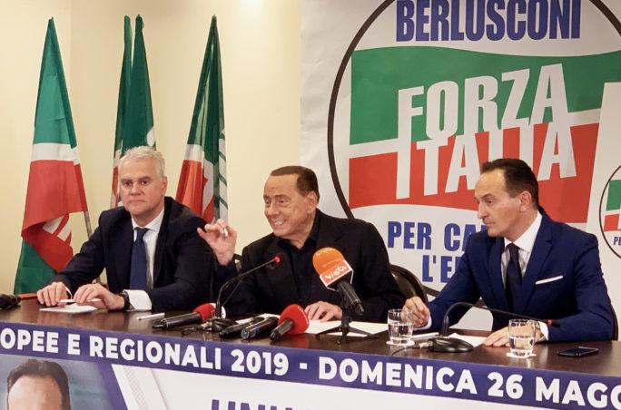 Berlusconi Cirio Zangrillo Torino