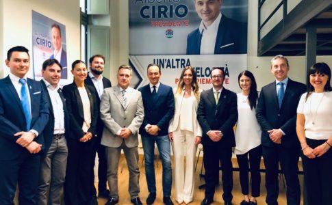 Listino Alberto Cirio Presidente